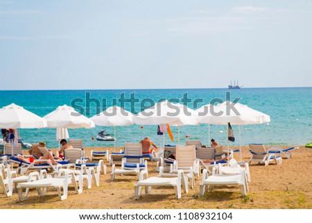 Beach, Sea, Sand, Holiday On 02 June, 2018 In Antalya #1108932104