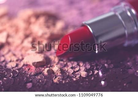 Dark red lipstick #1109049776