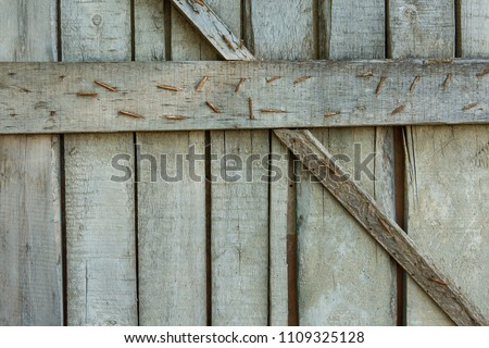 Vintage wood texture, Background of old rustic boards #1109325128