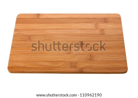 cutting board on isolated white background #110962190