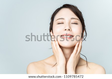 Beauty concept of young asian woman. #1109785472