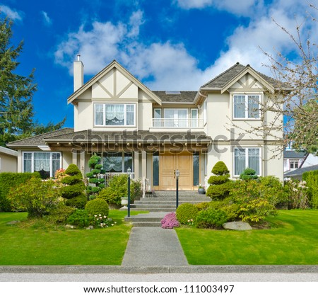 Big luxury home in the suburbs of North America #111003497