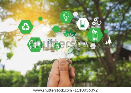 green energy concept energy sources sustainable Ecology Elements #1110036392