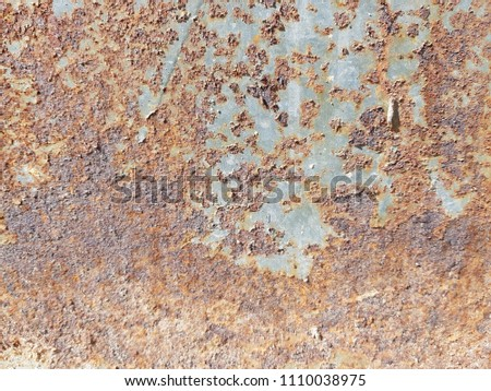Background with Rust on steel #1110038975