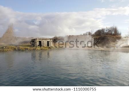 Iceland Secret Lagoon          #1110300755