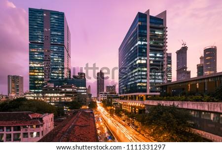 Mumbai skyline- Lower Parel