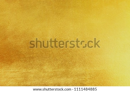 Gold yellow shiny foil background or texture and Gradients shadow. #1111484885