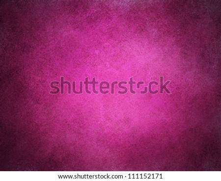abstract pink background or purple paper with bright center spotlight and black vignette border frame with vintage grunge background texture pink paper layout design of light and dark color art