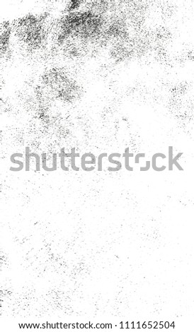 Distressed overlay texture of cracked concrete, stone or asphalt. grunge background. abstract halftone vector illustration #1111652504
