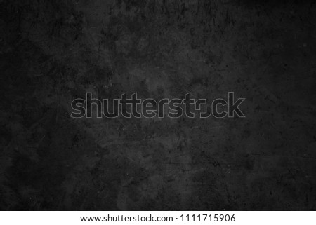 Black cement wall. Grunge background #1111715906