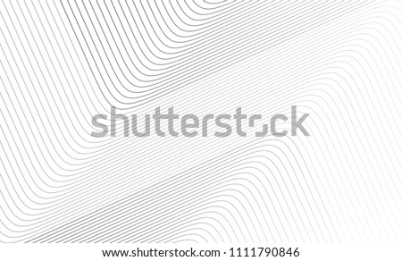 Vector Illustration of the gray pattern of lines abstract background. EPS10.	 Royalty-Free Stock Photo #1111790846