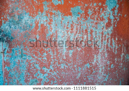Stone grunge texture for background, dirty not perfect old wall with cracks and peeling paint #1111881515