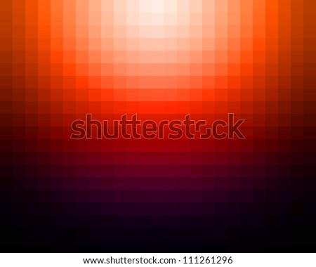 Abstract red background for display