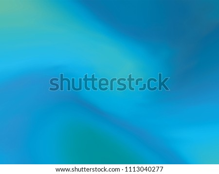 Blue gradient holographic background. Style 80s - 90s. Colorful texture in pastel,  neon color. For your creative design cover, screensavers, banners, book, printing, gift card, fashion, phone. #1113040277