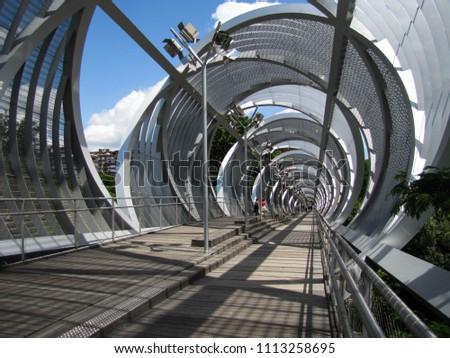 Arganzuela Bridge construction #1113258695