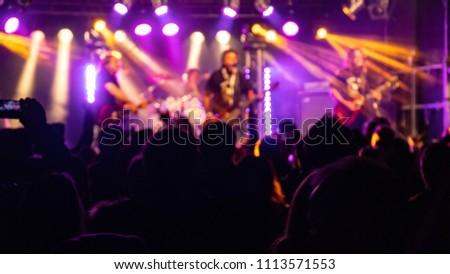 Concert visitors, Festival visitors #1113571553
