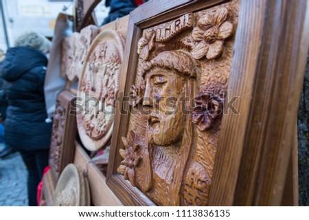 Santa Maria Maggiore Christmas Market, Valle Vigezzo, VCO, Piedmont, Italy #1113836135