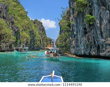 Philippines - El Nido - Miniloc Island - Big Lagoon #1114495190