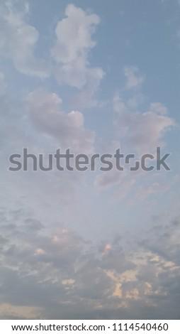 cloudy sky photo #1114540460