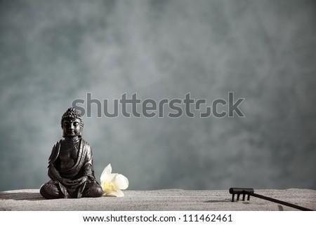 Buddha Zen,Religious concept.