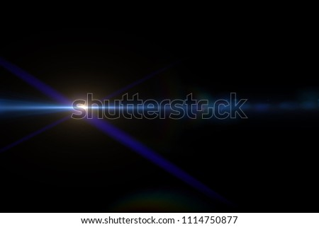 Abstract of sun with flare. natural background with lights and sunshine wallpaper #1114750877