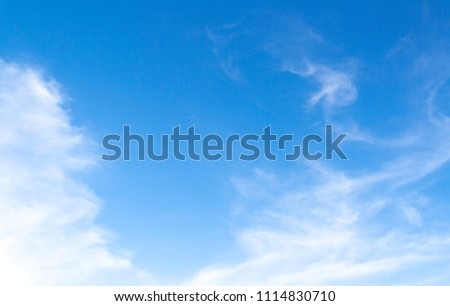 Clouds and blue sky background #1114830710