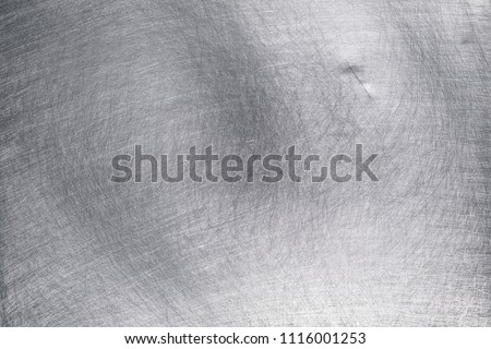 Vintage background of aluminum plate or stainless sheet #1116001253