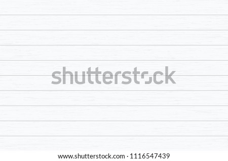 White wood plank texture for background. Vector illustration. #1116547439