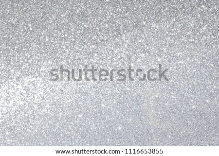 silver giltter texture christmas abstract background #1116653855