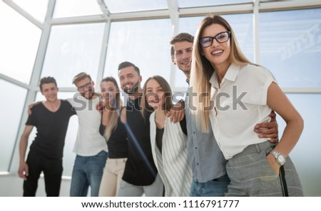 portrait of a successful business team #1116791777
