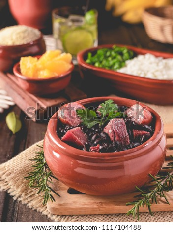 Feijoada (bean stew) - Brazilian Traditional Food #1117104488