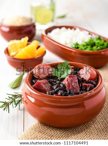 Feijoada (bean stew) - Brazilian Traditional Food #1117104491