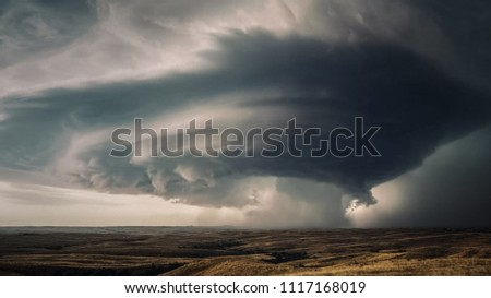 cloudy Tornado and extreme weather. #1117168019