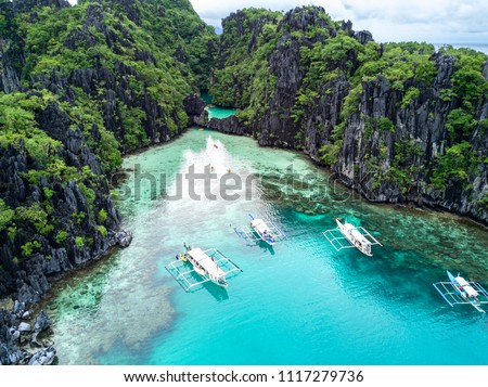 El Nido Palawan Island Hopping Adventures In Philippines  #1117279736