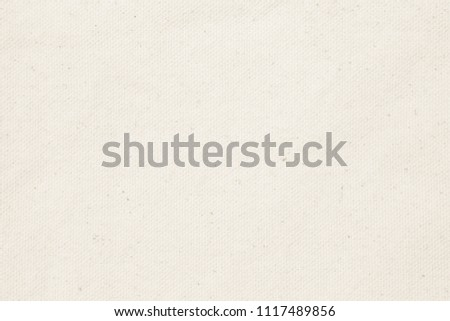 Cream pastel texture background. Haircloth or blanket wale linen canvas wallpaper. #1117489856