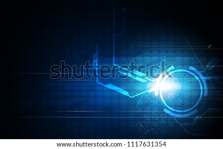 speed tech networking concept design background eps 10 vector #1117631354