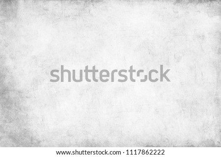 Monochrome texture background with white and gray color. Grunge old wall texture, concrete cement background.