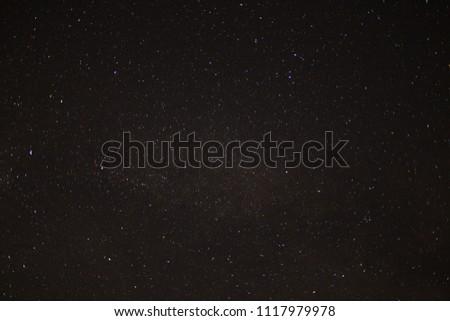Night sky with stars #1117979978