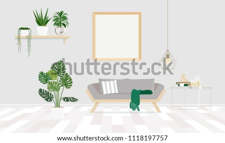 Vector flat illustration. Painted in shape. #1118197757