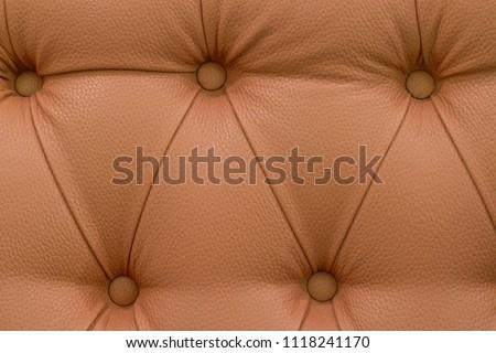 Sofa. Texture of the Sofa. leather sofa. Brown sofa. #1118241170