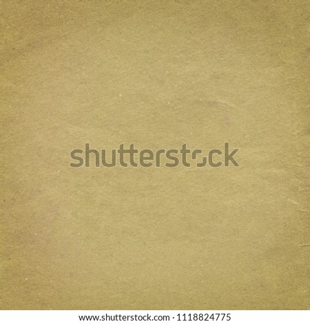 Old paper texture. Craft paper texture. Brown paper texture background. Parchment  recycle surface  #1118824775