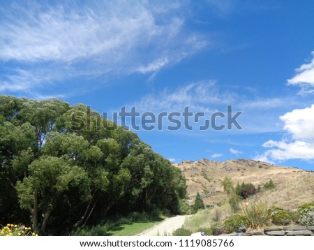 Majestic landscape with mountain and lake #1119085766