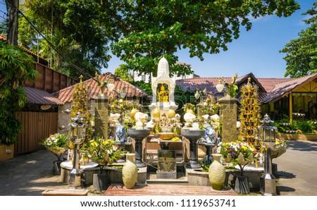 Thao Maha Phrom Shrine in resort #1119653741
