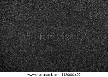 black texture and background and black sand paper texture #1120003607