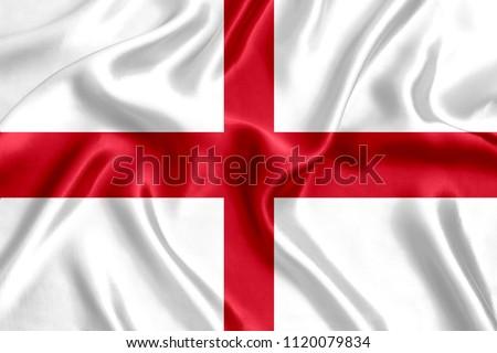 Flag of England silk #1120079834