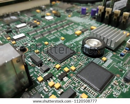 main board central processing unit CPU circuit heat sink cooler #1120508777
