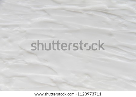 White texture background of cream and lotion #1120973711