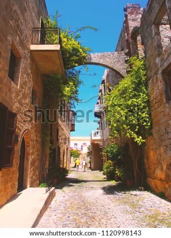 Greece. Rhodos island. Old Rhodos town. #1120998143
