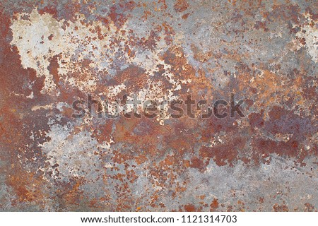 Rusty metal background #1121314703