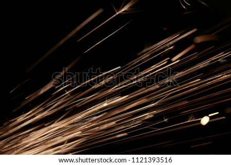Abstract background of sparkling light lines. #1121393516